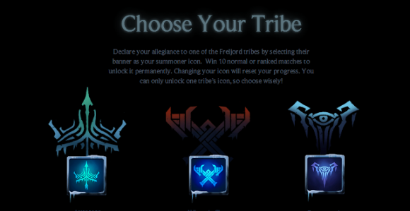 Tribes (left to right): Avarosan, Winter's Claw and Frostguard
