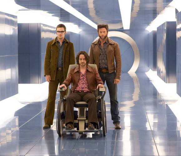 Hank McCoy, Professor Charles Xavier, and Wolverine