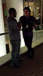 Corey interviewing Jay Bonansinga