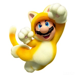 Cats and Mario, two of the Internet's fav things